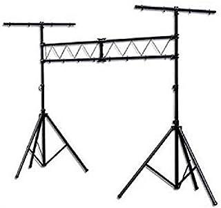 2 Fixations pour jeux de lumi/ère en aluminium r/églable jusqu/à 3.50m Portique