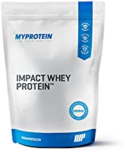 Myprotein Impact Whey Protein Blend, Natural Vanilla, 5.5 lbs (100 Servings)