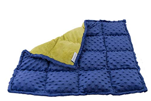 Harkla Weighted Lap Pad for Kids 5 pounds - Great Weighted Lap Pad for Kids in School & On-The-Go - Soft and Comfortable Minky Fabric