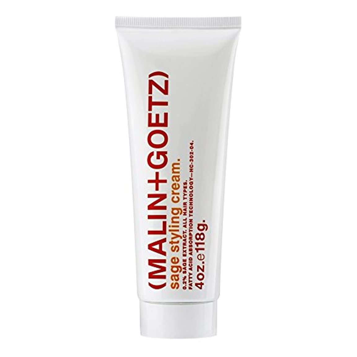 引くフローティングミケランジェロマリン+ゲッツセージスタイリングクリーム x4 - MALIN+GOETZ Sage Styling Cream (Pack of 4) [並行輸入品]