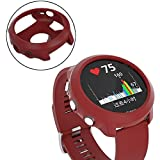 Creativity TPU Protective Case for Garmin Forerunner 645 (Army Green). (Color : Red)