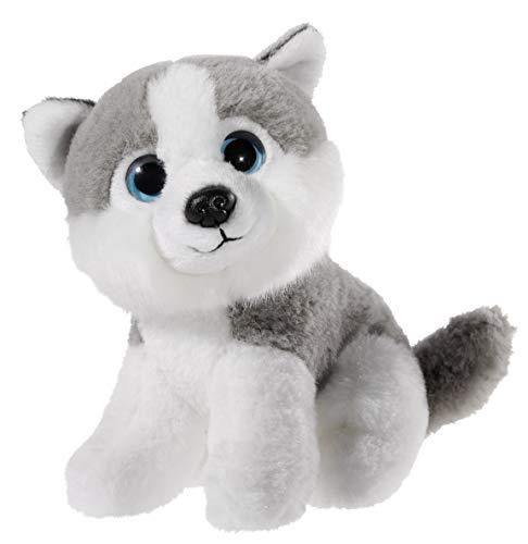 Heunec 275775 Plüschtier, Hund, Husky, grau/weiß