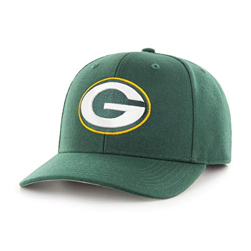 OTS NFL Green Bay Packers Men's All-Star DP Adjustable Hat, Team Color, One Size