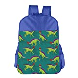 SNM HILL Cute Lambeosaurus Cute Children s School Bag, Camping Bag Travel Bag14.516 in