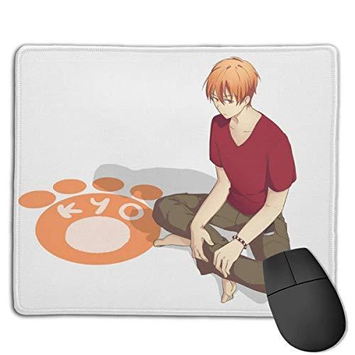 Früchte Korb-Kyo Sohma Manga Anime Mauspad Coole Gaming Mauspad Rutschfeste Gummimatte Mausmatte Groß für Computer, Laptop, Büro & Zuhause