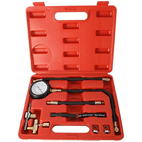 FreeTec Injection Pump Fuel Pressure Tester Tool Set 0-100psi
