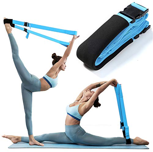 Adjustable Stretch Band ,Kids & Adults Stretching Bands for Cheer Dance, Stretching Leg Strap Great Cheer Dance Gymnastics Trainer Stretching Equipment Taekwondo Training ,Ballet, Yoga,Cheerleading