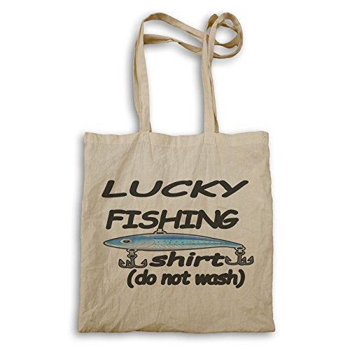 INNOGLEN Chemise de pêche chanceuse Sac à Main u235r