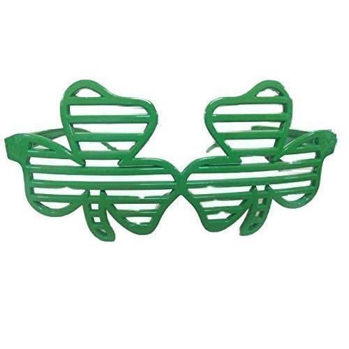 St Patricks Day Hats Glasses Wigs Scarf Ireland Irish Parade Fancy Dress