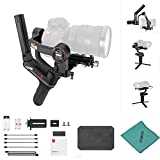 Zhiyun WEEBILL S 3-Axis Camera Handheld Gimbal Stabilizer Tiny Body Support Auto Tuning 14 Hours Runtime High Responsiveness Instant Setting APP Free Compatible with Canon Nikon Sony DSLR Cameras