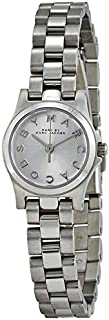 Marc Jacobs Henry Dinky Women's Silver Dial Stainless Steel Band Watch - MBM3198