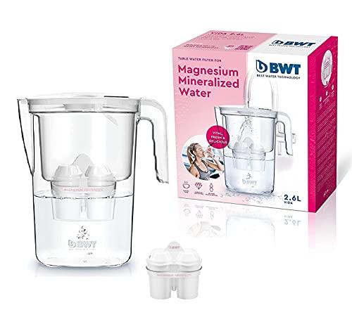 BWT–Caraffa filtrante per acqua vita–2.6Litri–Non con filtro