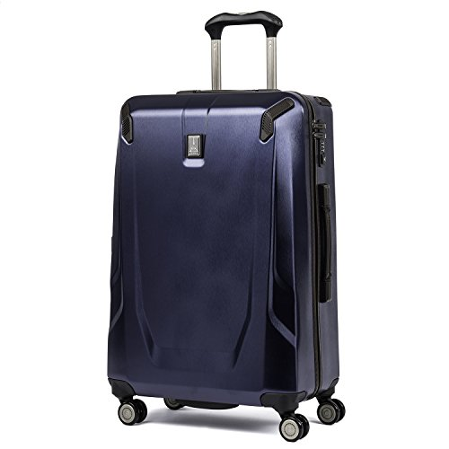 Travelpro Crew 11-Hardside Luggage with Spinner Wheels, Navy, Checked-Large 29-Inch