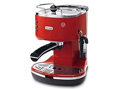 Foto di De'Longhi Icona Eco 311.R Macchina da Caffè Espresso Manuale, Caffè in Polvere o in Cialde E.S.E., 1100 W, Rosso