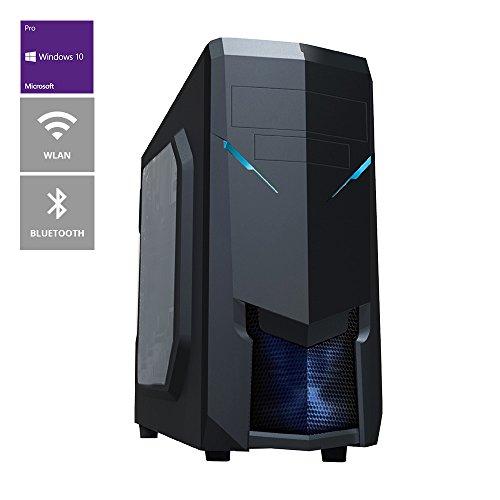 one Multimedia-PC AMD A-Serie A4-4020, 2x 3.20 GHz (Dual Core) · 16 GB DDR3-RAM · 2000 GB HDD · BLU-RAY Brenner · ASRock FM2A88M-HD+ · Cardreader · WLAN · Bluetooth · 1 GB NVIDIA GeForce GT 210, HDMI, DVI, VGA · 7.1 Sound · LAN · inkl. Windows 10 Pro (64-Bit)