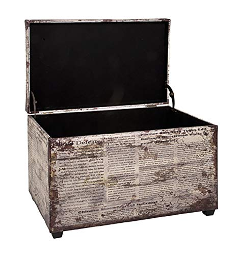 HAKU Möbel Sitztruhe, vintage_1, 65x40x42cm - 2