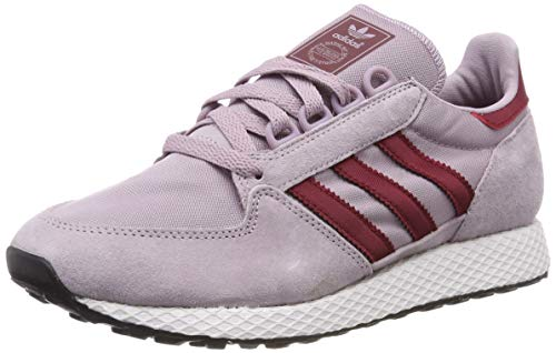 adidas Damen Forest Grove W Gymnastikschuhe, Pink (Soft Vision/Collegiate Burgundy/Chalk White), 36 EU(3.5UK)