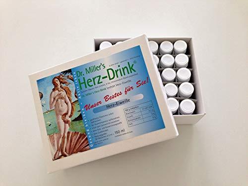 Dr. Miller's Herz Drink, Monatspackung, Herz-Eiweiße Getränk Herz Getränk