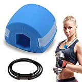 Jawline Exerciser and Facial Toner for Women and Men. Exercise Jaw and make your Face Slimmer. Great Double Chin Reducer. Complete workout neck shaper for your jawline. Chisel your jaw. Silicone Safe.