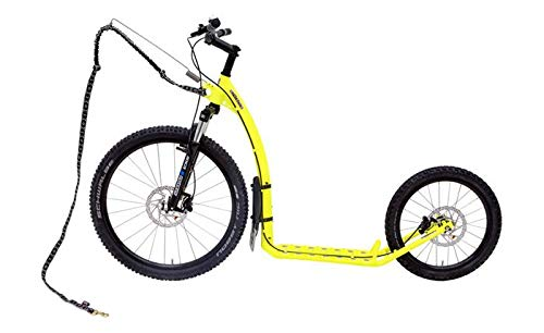 KOSTKA Scooter All Terrain Footbike Mushing Max (G5), gelb