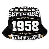 XCNGG 18 de septiembre - Gorra de Playa Unisex The Birth of Legends Summer Sun Bucket Hat