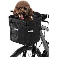 Cesta de Mimbre Tejida de la Cesta de la Bicicleta para la Bici de Las Muchachas de los ni/ños de los ni/ños Favourall Cesta De Bicicleta Delantera Cesta de Bicicleta de Mimbre