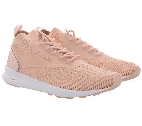 Reebok Classic Zoku Runner Ultraknit Sport-Schuhe Bequeme Damen Fitness-Schuhe Sneaker Freizeit-Schuhe Rosa, Größe:40 1/2