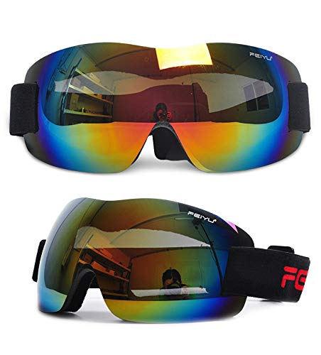 SYFO Gafas de esquí for Hombres y Mujeres, Gafas de Snowboard, Gafas...