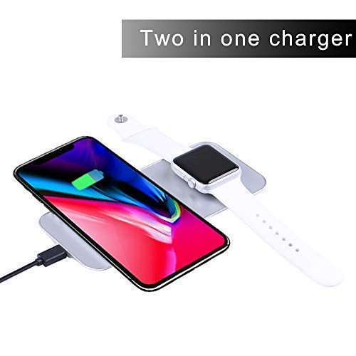 Amazon.com: Ruishion Fast Wireless Charger Pad Phone iWatch Qi ...