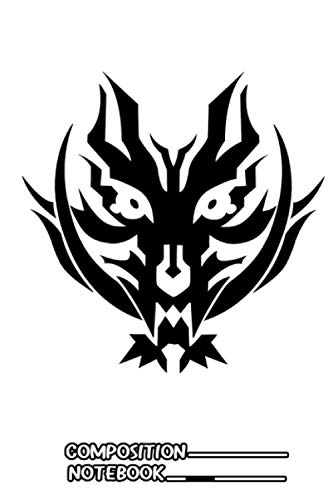 God Eater 2 Rage Burst Logo Notebook: (110 Pages, Lined, 6 x 9)
