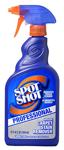 Spot Shot Professional Instant Carpet Stain Remover with Trigger Spray, 32 OZ