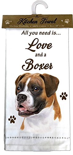 Top 10 Best Selling List for boxer dog kitchen towels