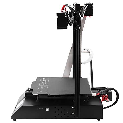Impresora 3D, práctica de usar Impresora 3D de alta precisión para empresas(Estándar europeo 250V, rosado)