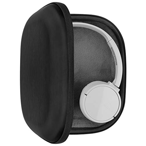 Geekria Funda para Auriculares Sony WH-CH510, WH-CH500, WH-XB900N, WH-1000XM3, WH-1000XM2, MDR-1000X, Estuch Rígido de Transporte, Viaje Bolsa