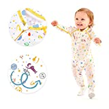 Eczema Baby Pajamas Sleeper Suit - Itch Relief for Moderate to Severe Atopic Dermatitis - Soothing Sleepsuit for Wet Wrapping Treatments