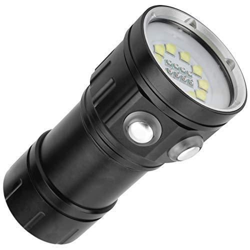 Germerse Lámpara subacuática de Alto Brillo Resistente al Desgaste Linterna de Buceo de Alta eficiencia para natación en casa