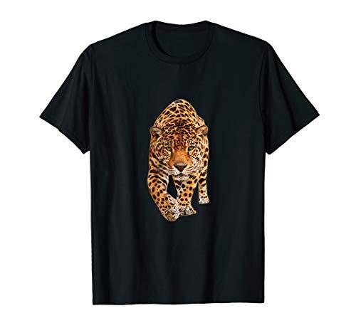 Leopard Zoo Tier Wildlife Gepard Spots Geschenk T-Shirt