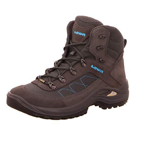 Lowa Taurus II GTX® MID Unisex Wanderstiefel Tracking Outdoor Goretex Anthrazit, Schuhgröße:41 EU