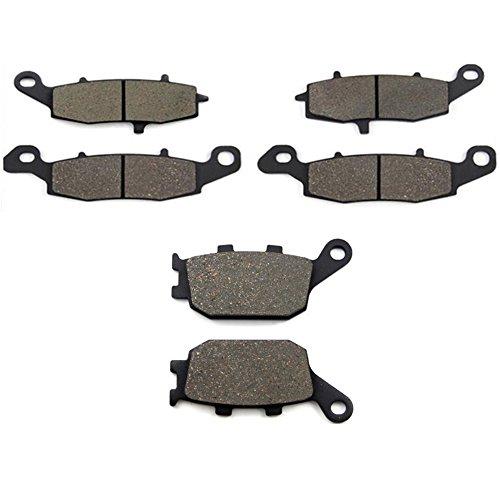 SOMMET Pastillas de freno Delanteras + Traseras para Suzuki SV 400 (03-05) SV 650 (03-15) GSF 650 Bandit (05-06) GSR 750 (11-14) DL 1000 V-Strom (02-12) LT229-231-174