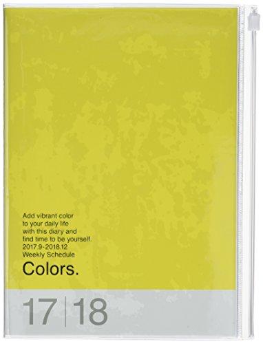 Mark's 2018 Taschenkalender A5 Vertikal, Colors //Yellow