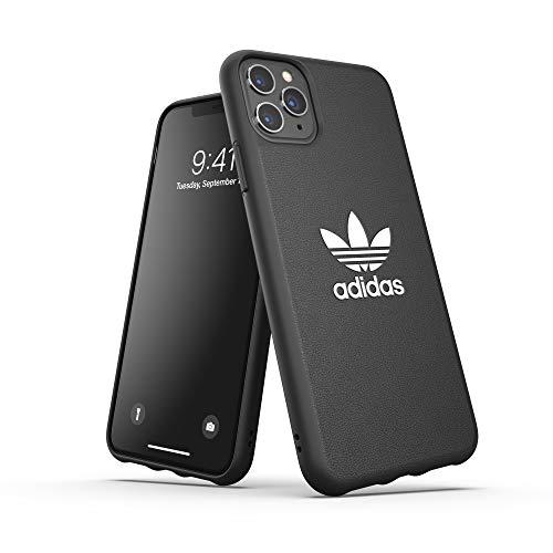 adidas Originals Kompatibel mit iPhone 11 Pro Max Hülle, Schutz geformte TPU Handyhülle - Schwarz