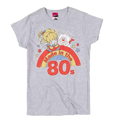 * Popular * Women's Rainbow Brite Made in the 80s T-shirt, XS to XL