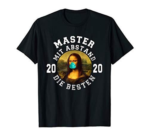 Master 2020 Mit Abstand Die Besten I Uni Abschluss Geschenk T-Shirt