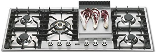 48' Gas Cooktop with 5 Burners
