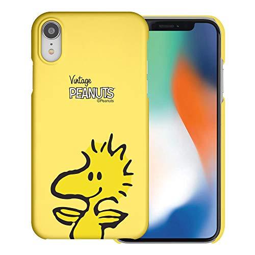 iPhone XR ケース と互換性があります Peanuts Woodstock ピーナッツ ウッドストック ハード ケース/艶消しの硬い スリム スマホ カバー 【 アイフォンXR 】 (面 ウッドストック) [並行輸入品]