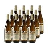 Roussette de Savoie Altesse Blanc 2019 - Philippe et Sylvain Ravier - Vin AOC Blanc de Savoie - Bugey - Lot de 12x75cl - Cépage Altesse
