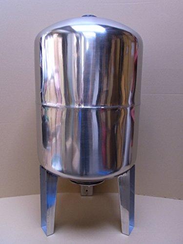 100 l Druckkessel Druckbehälter Membrankessel Hauswasserwerk Edelstahl STVT