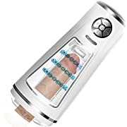WeDol Automatic Male Masturbator Electric Masturbation Cup with 10 Powerful Thrusting Modes and 10 Speeds 3D Realistic Vagina Pussy Stroker Sex Machine Oral Sex Toys for Men Masturbation