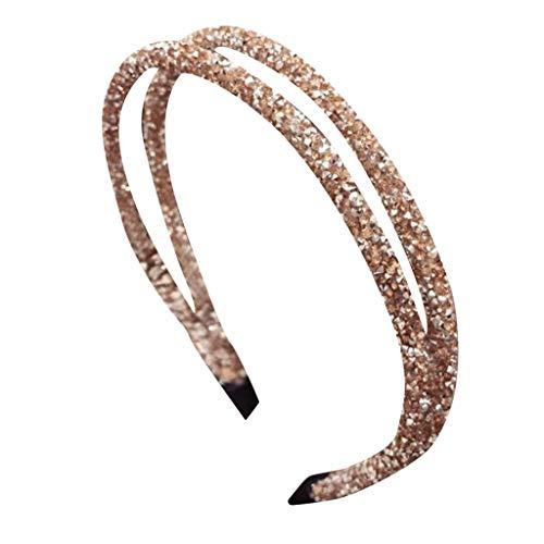 Sayla Diamantes de imitación de Cristal Hechos a Mano Perla Diadema Nupcial Accesorios para el Cabello del Banquete de Boda para Novia Casada,Fiesta, Baile