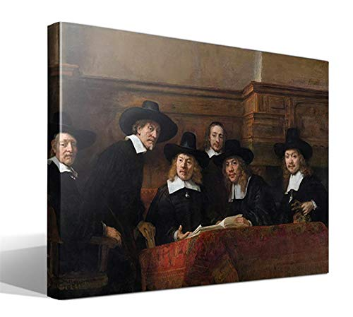 Cuadro Canvas Los Oficiales de Muestreo de Rembrandt Harmenszoon Van Rijn